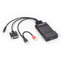 EMD200DV-T: (1) Single link DVI, V-USB,Audio, Transmitter
