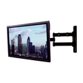 Double Arm Flat Screen Wall Mount with Tilt and Swivel