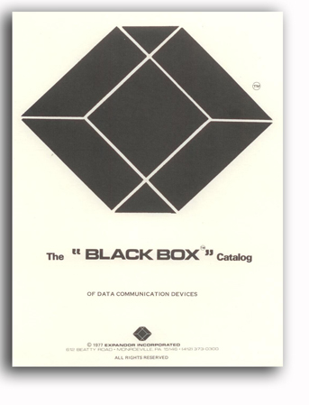 Black Box First Catalogue 1977
